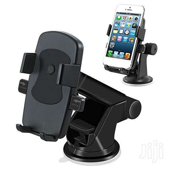 Mobile Phone Holder - Black