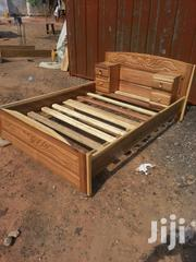 Quality Wooden Double Bed.   Furniture for sale in Greater Accra, Kanda Estate