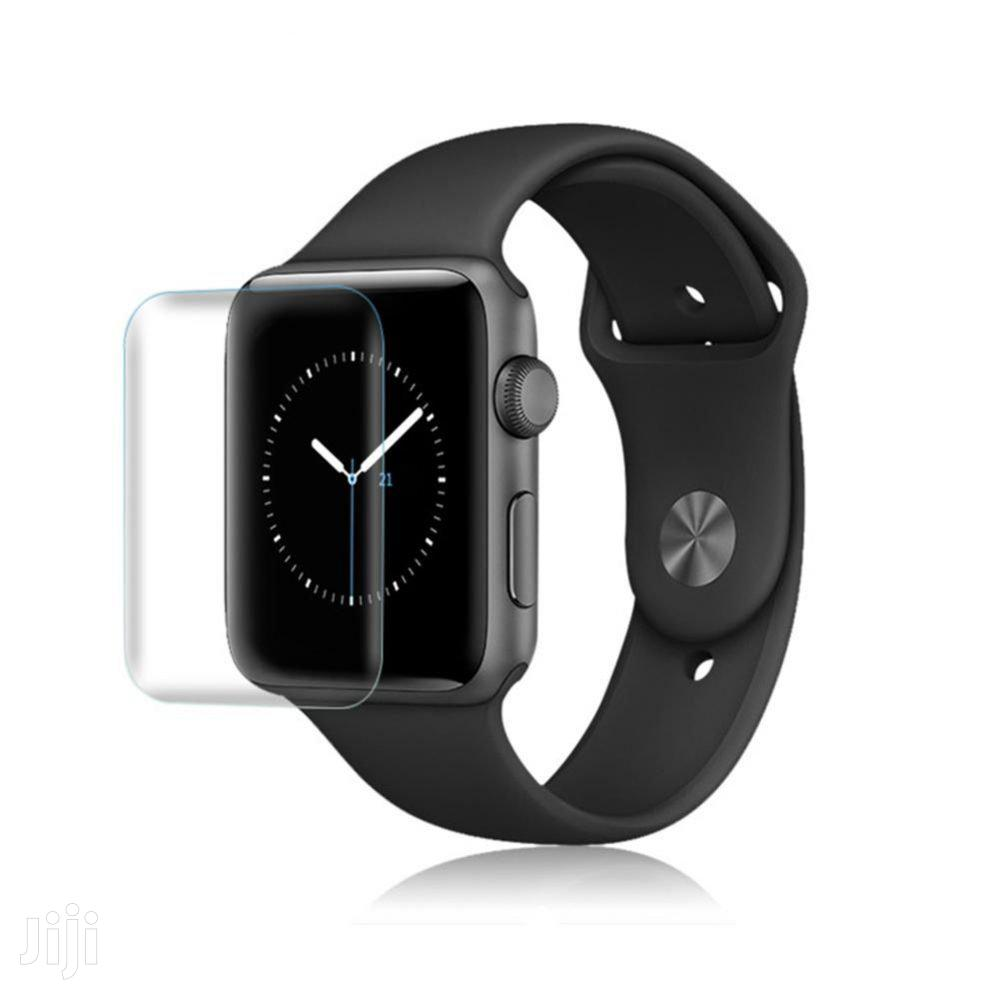Apple Watch Tempered Glass Protector 38MM 40MM 42MM 44MM | Smart Watches & Trackers for sale in Accra Metropolitan, Greater Accra, Ghana