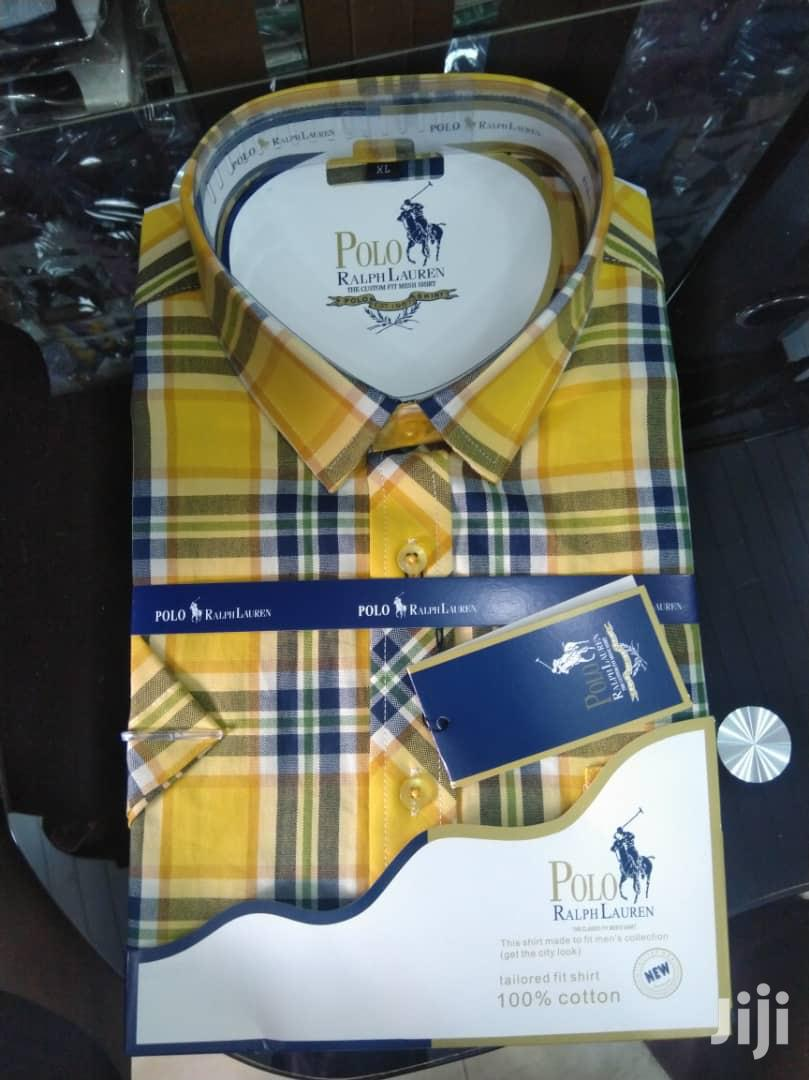Men'S Polo Shorts Sleeves Shirts | Clothing for sale in Kwashieman, Greater Accra, Ghana