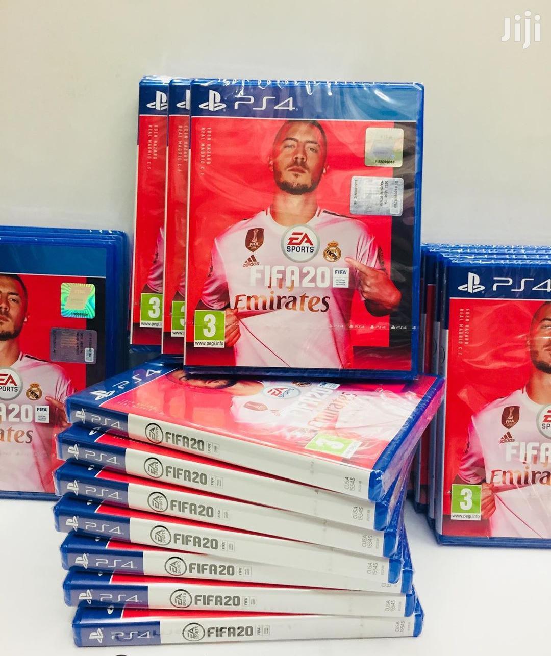 FIFA 20 Ps4 Cd