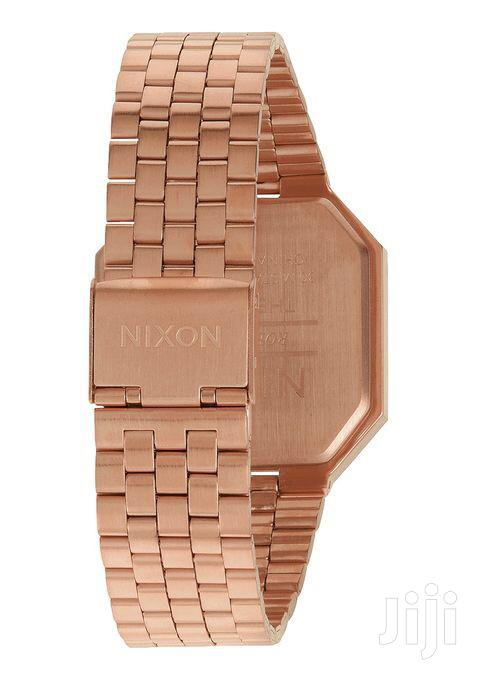 Archive: Nixon Re-Run All Rose Gold Watch