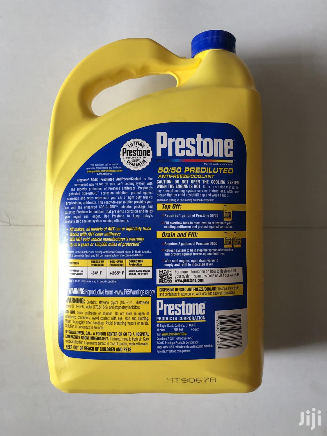 Prestone Coolant Antifreeze | Vehicle Parts & Accessories for sale in East Legon, Greater Accra, Ghana