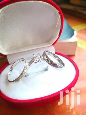 Original Sterling Silver 3 Set Wedding Rings   Wedding Wear & Accessories for sale in Greater Accra, Ga South Municipal