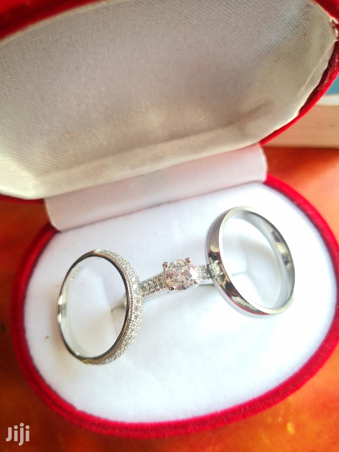 Original Sterling Silver 3 Set Wedding Rings | Wedding Wear & Accessories for sale in Ga South Municipal, Greater Accra, Ghana