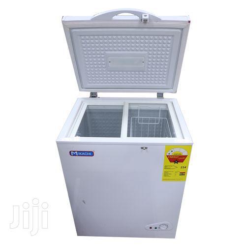 Mikachi MIK-320 Chest Freezer - 268 Litre Silver