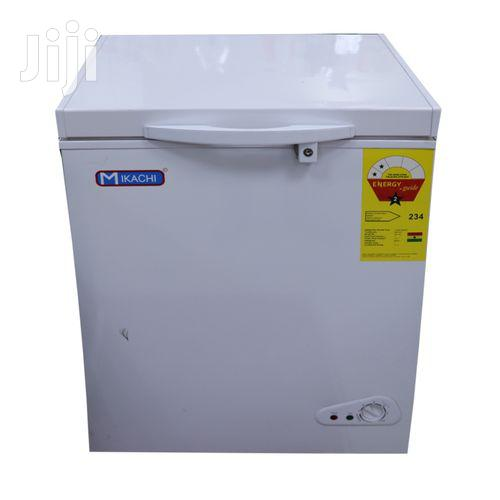 Mikachi MIK-320 Chest Freezer - 268 Litre Silver | Kitchen Appliances for sale in Accra Metropolitan, Greater Accra, Ghana