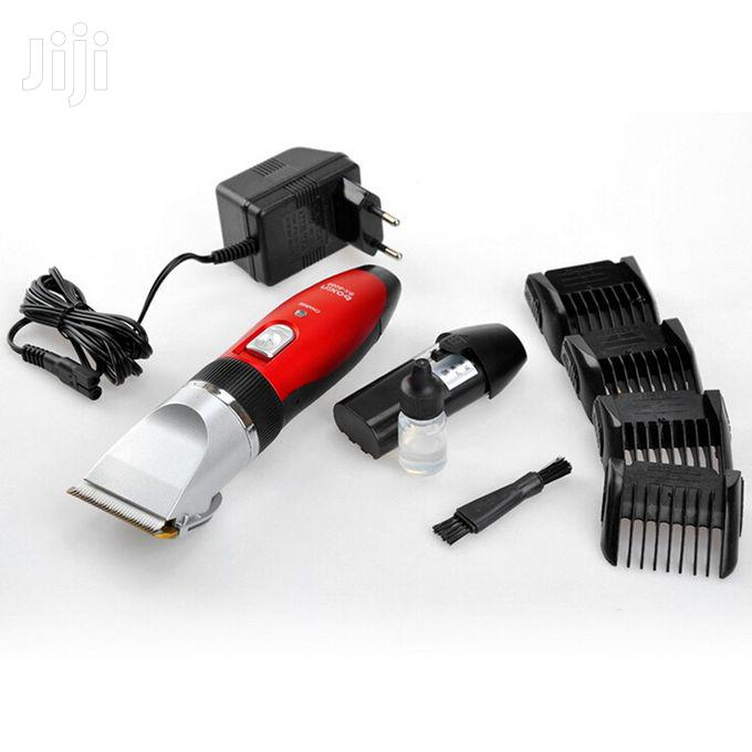 Rechargeable Hair Clipper With Extra Battery | Tools & Accessories for sale in Abelemkpe, Greater Accra, Ghana