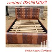 TUTKISH Brown Design Bed Frame ❤ 🖤 | Furniture for sale in Greater Accra, Darkuman