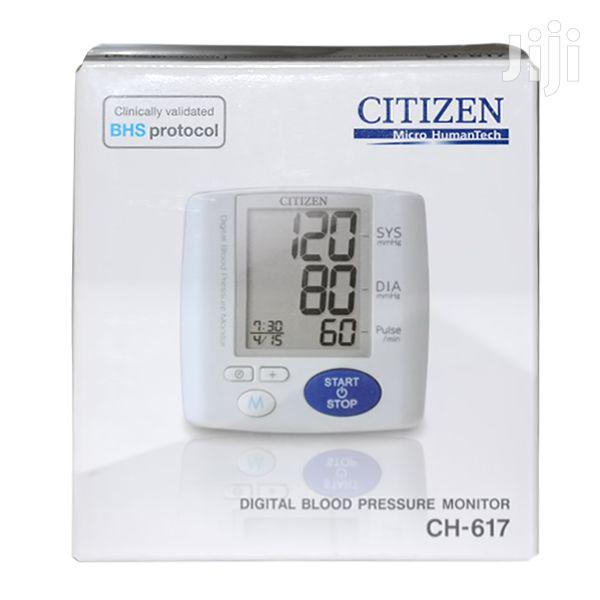 Citizen Blood Pressure Monitor Wrist