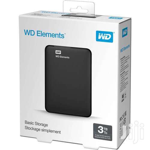 WD 3TB Elements USB 3.0 External Hard Drive - 3TB Black PROMO