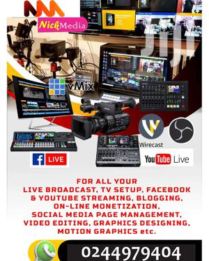 Social Media Live Streaming Services | Computer & IT Services for sale in Kaneshie, North Kaneshie
