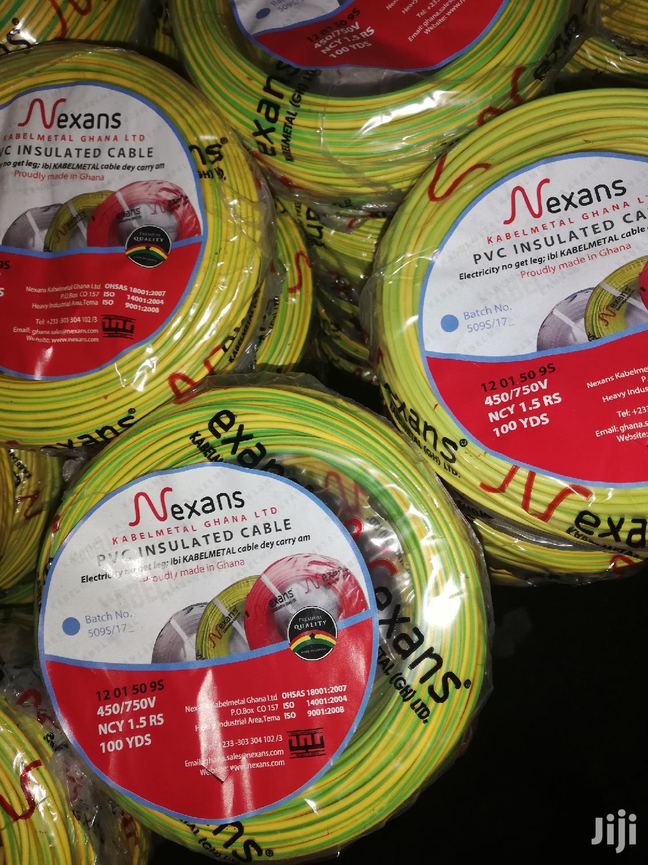 Archive: Nexans Kabelmetal Conduit Cable 1.5mm