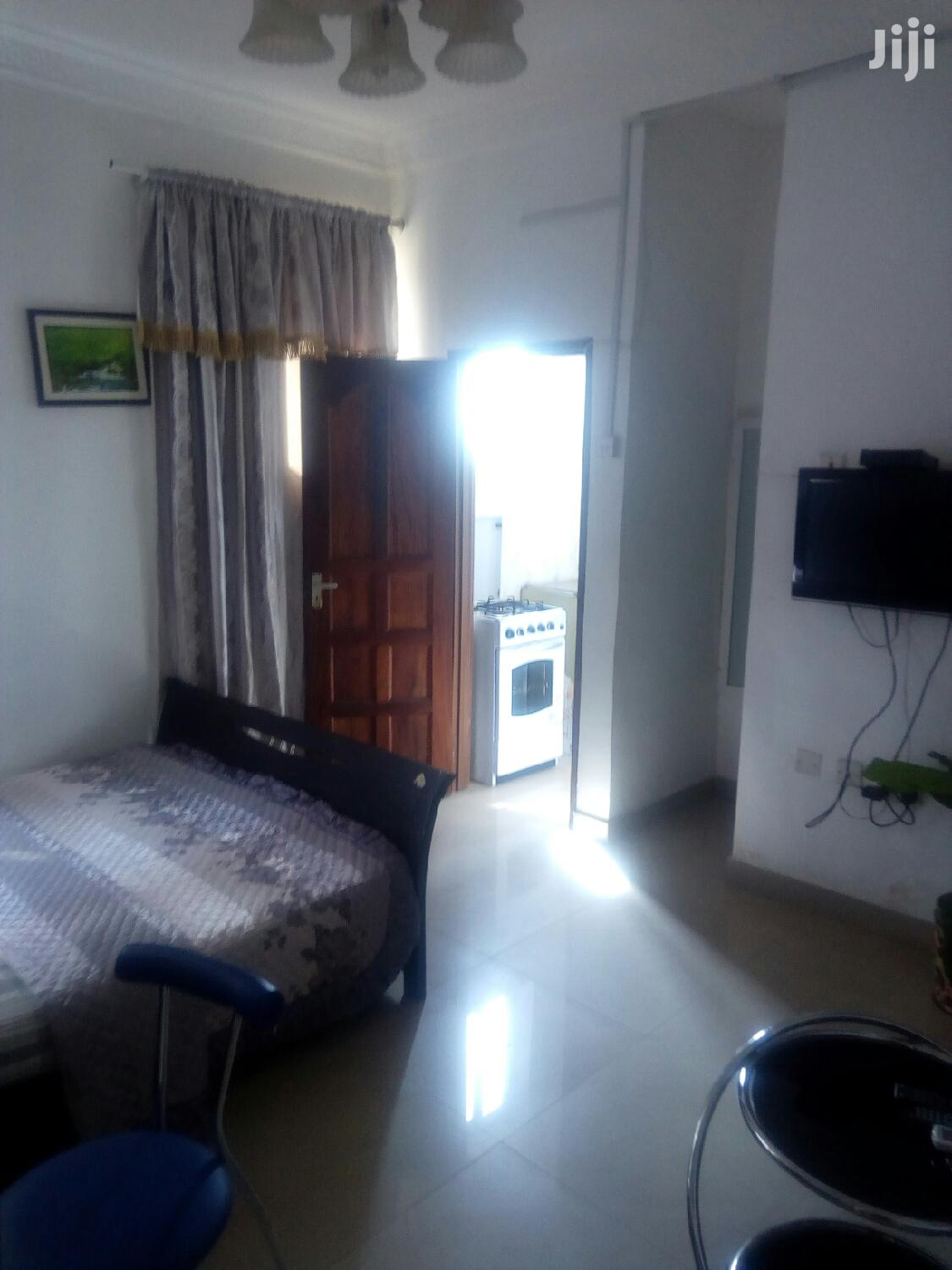 Fully Furnished Room at Dzorwulu Coming With an AC Payable Monthly | Houses & Apartments For Rent for sale in Dzorwulu, Greater Accra, Ghana