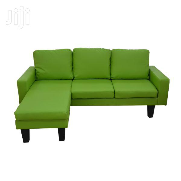 Reversible L-Shape Sofa Davin Leather