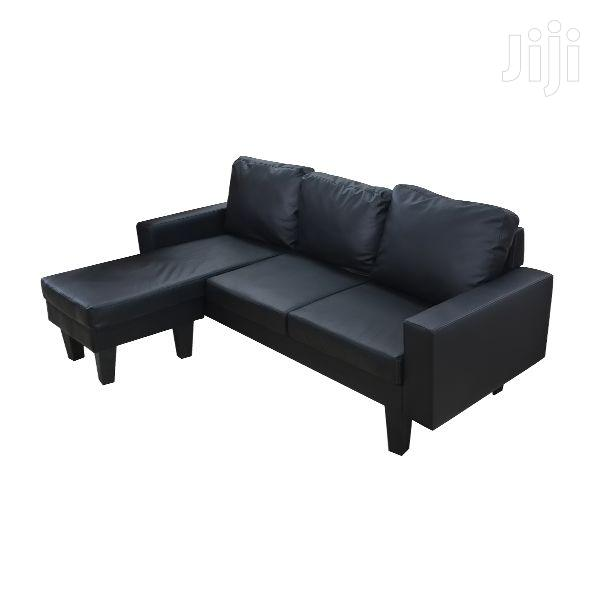 Reversible L-Shape Sofa Davin Leather | Furniture for sale in Adenta Municipal, Greater Accra, Ghana