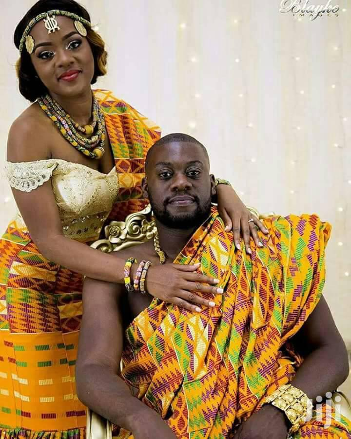 Latest Kente Yellow | Clothing for sale in Roman Ridge, Greater Accra, Ghana