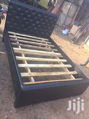 Modernize Leather Bed at Affordable Price.   Furniture for sale in Greater Accra, Labadi-Aborm