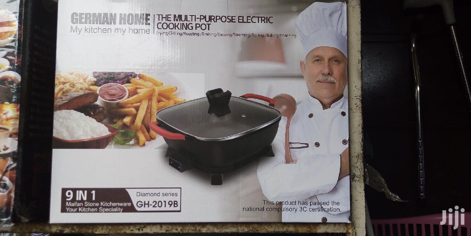 Electric Grilling Pan