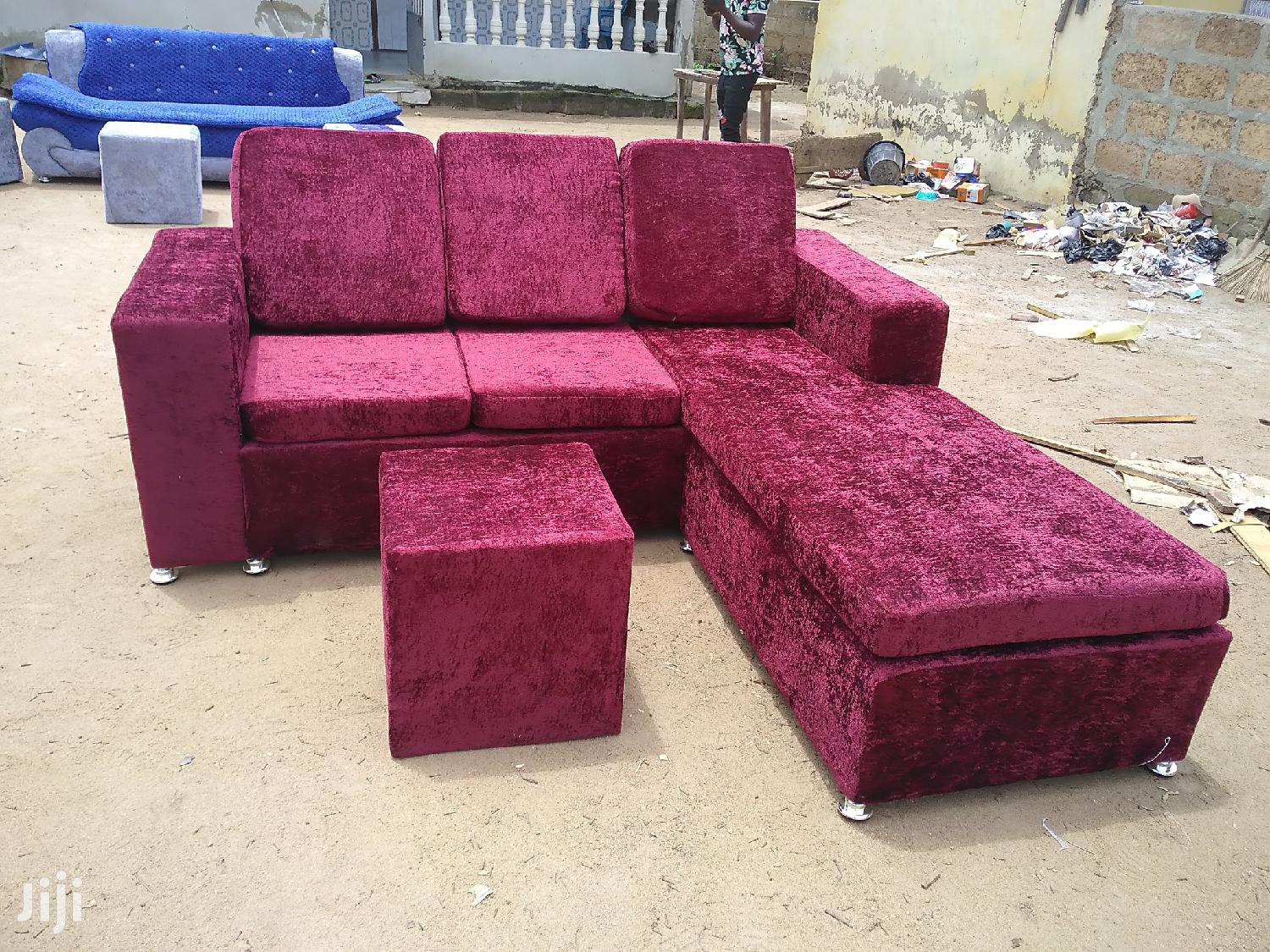 Stylish Leather Sofa   Furniture for sale in Apenkwa, Greater Accra, Ghana