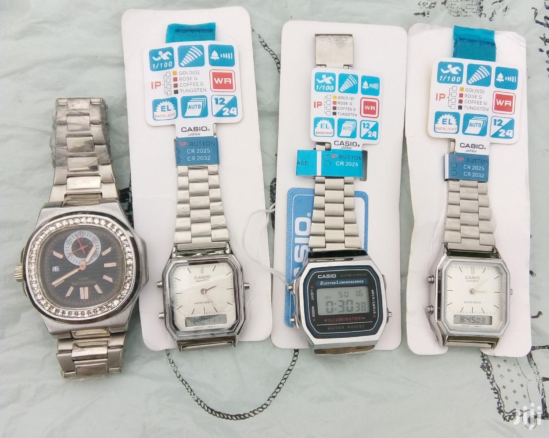 Casio Silver Watches