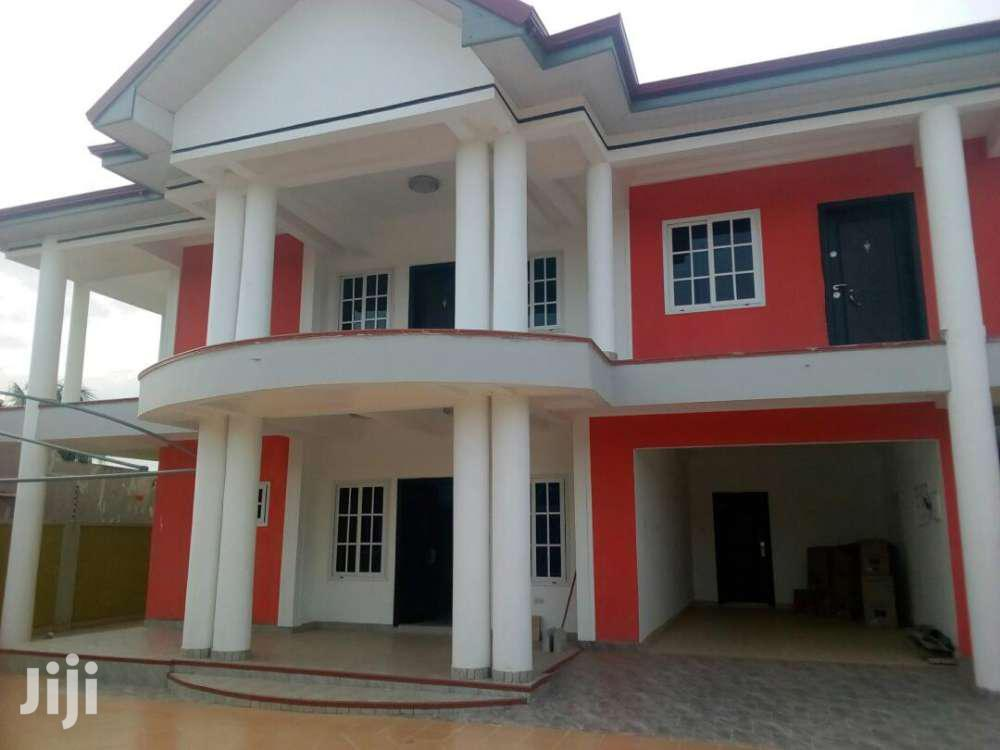Executive Newly Built 4bedroom House For Sale At Haatso Ecomog