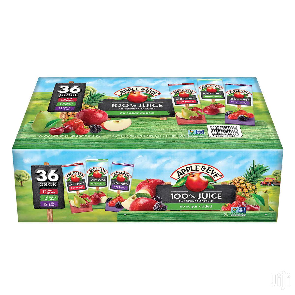 Archive: Apple & Eve 100% Juice, Variety Pack, 200ml, 36-count