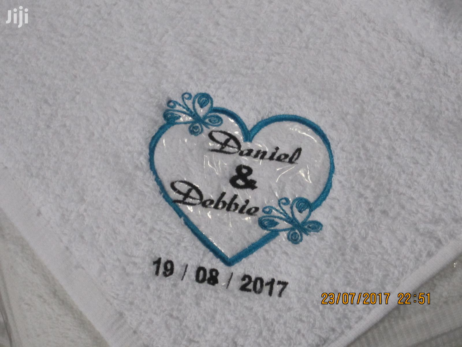 Face Towel Embroidery Works | Manufacturing Services for sale in East Legon (Okponglo), Greater Accra, Ghana