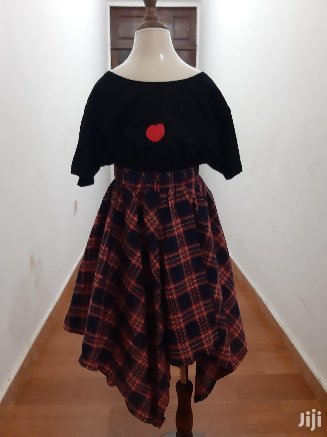 Skirt and Top for Girls