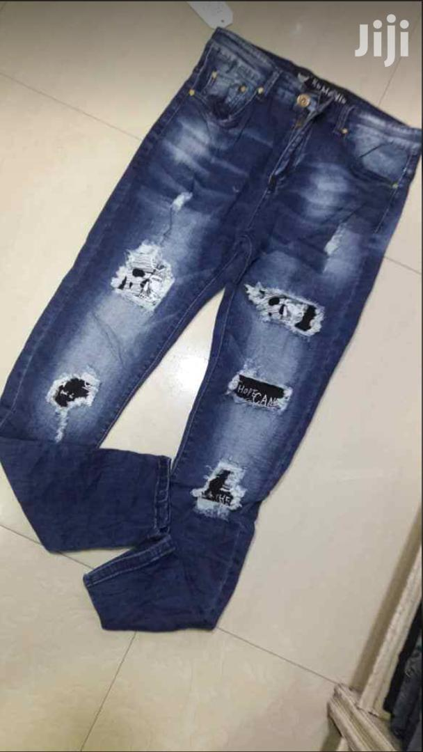 Original Tartered Jeans
