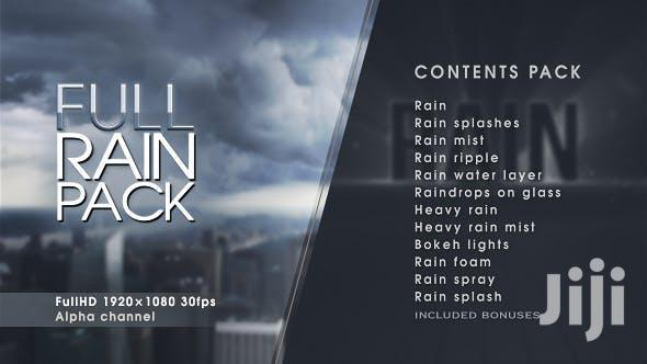 Full Rain Pack For Adobe (After Effects & Premiere Pro)
