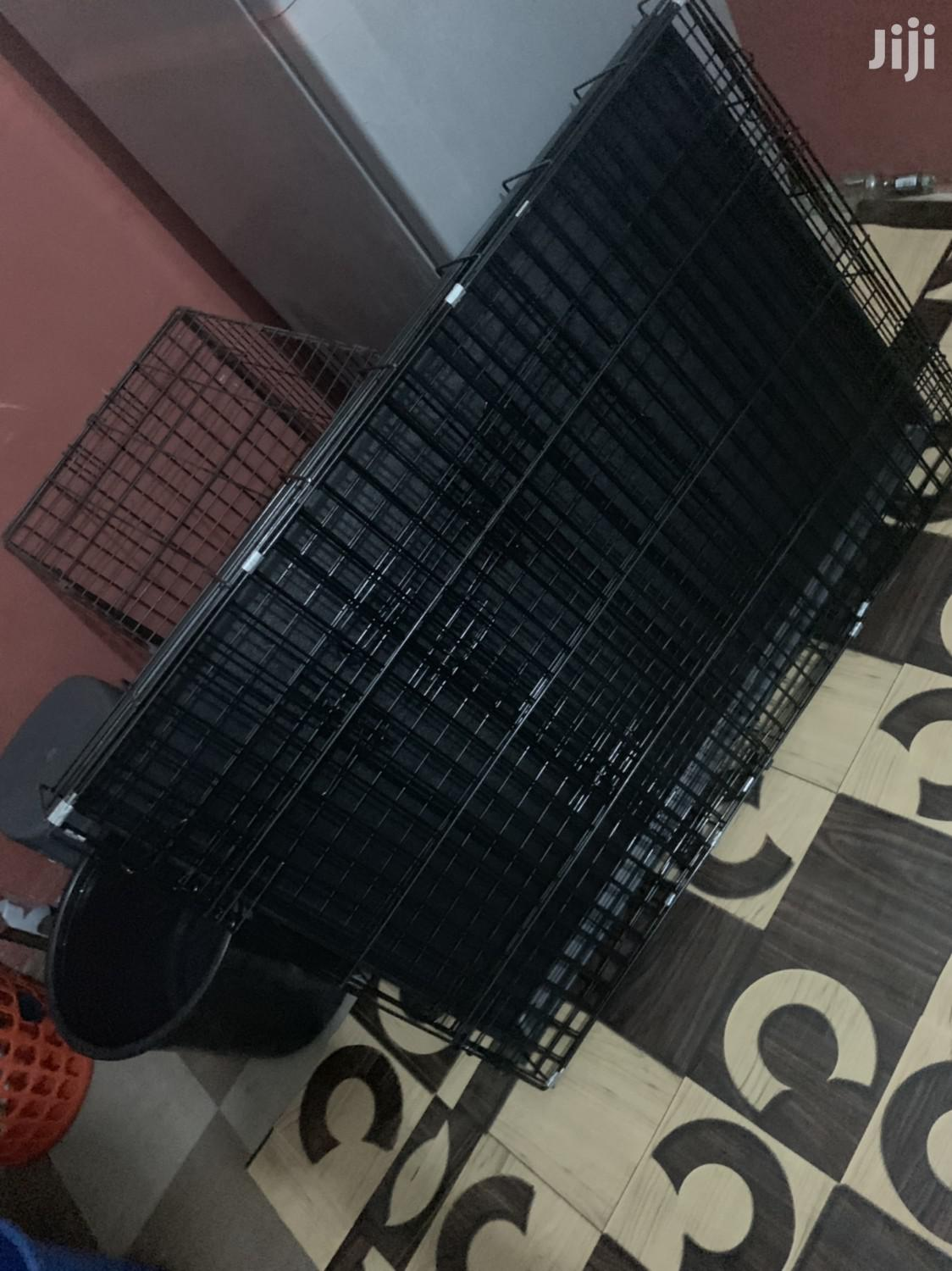 Metal Dog Cage | Pet's Accessories for sale in Adenta, Greater Accra, Ghana