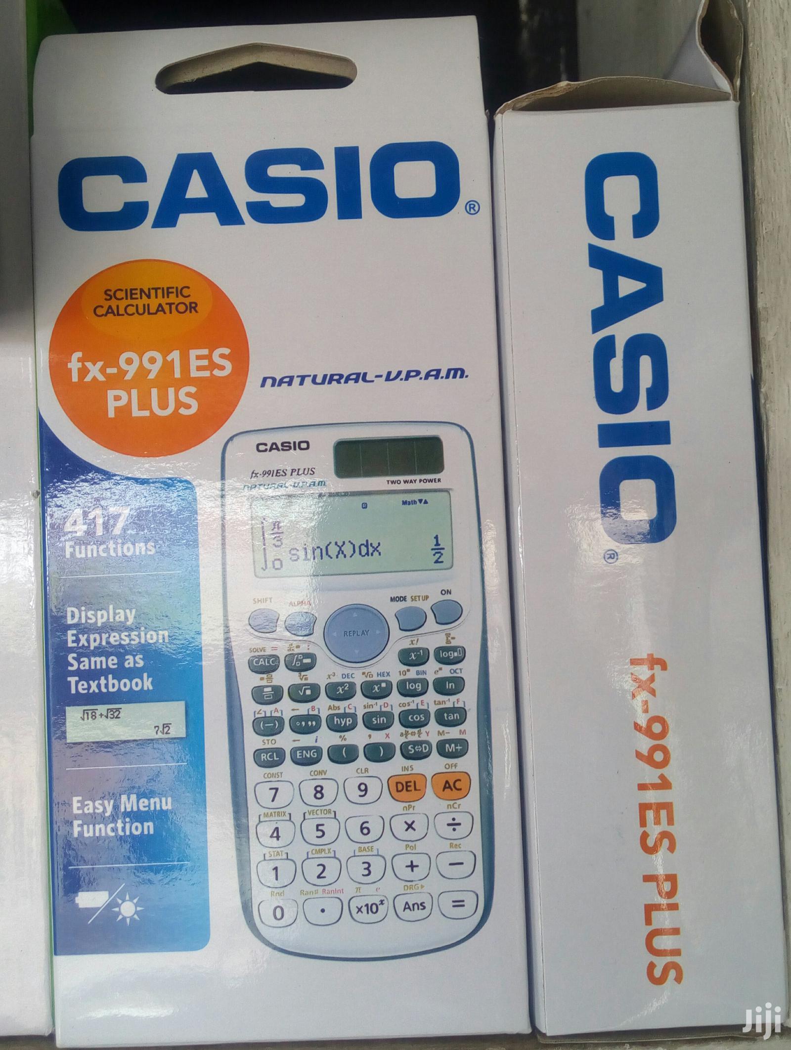 Casio Calculator: Version E