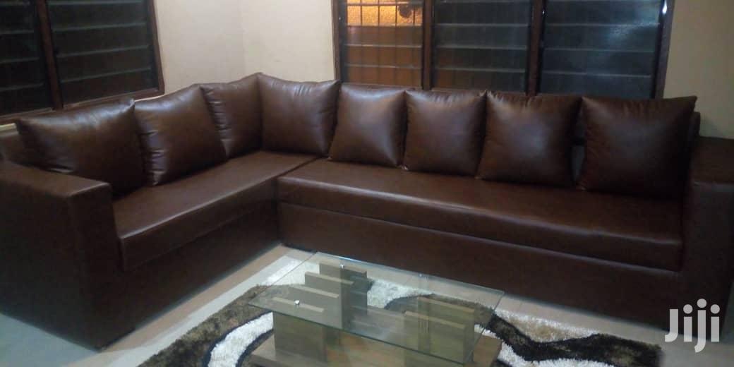 Archive: L Shape Sofa Leather