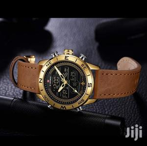 Naviforce 9144 Multifunction Leather Watch   Watches for sale in Greater Accra, Accra Metropolitan