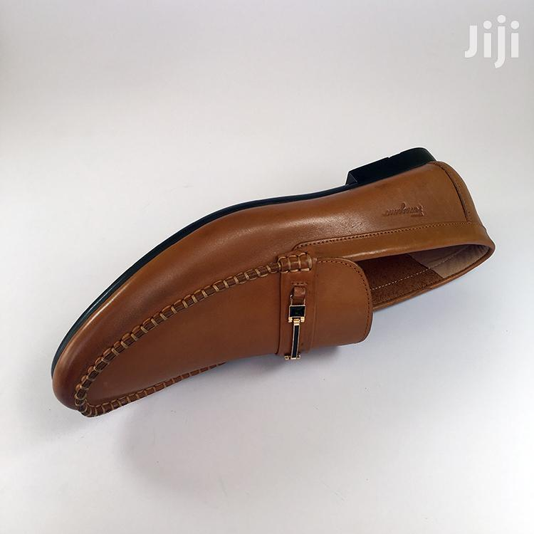 Ferragamo Light Brown Leather Loafers Shoe | Shoes for sale in Ashaiman Municipal, Greater Accra, Ghana
