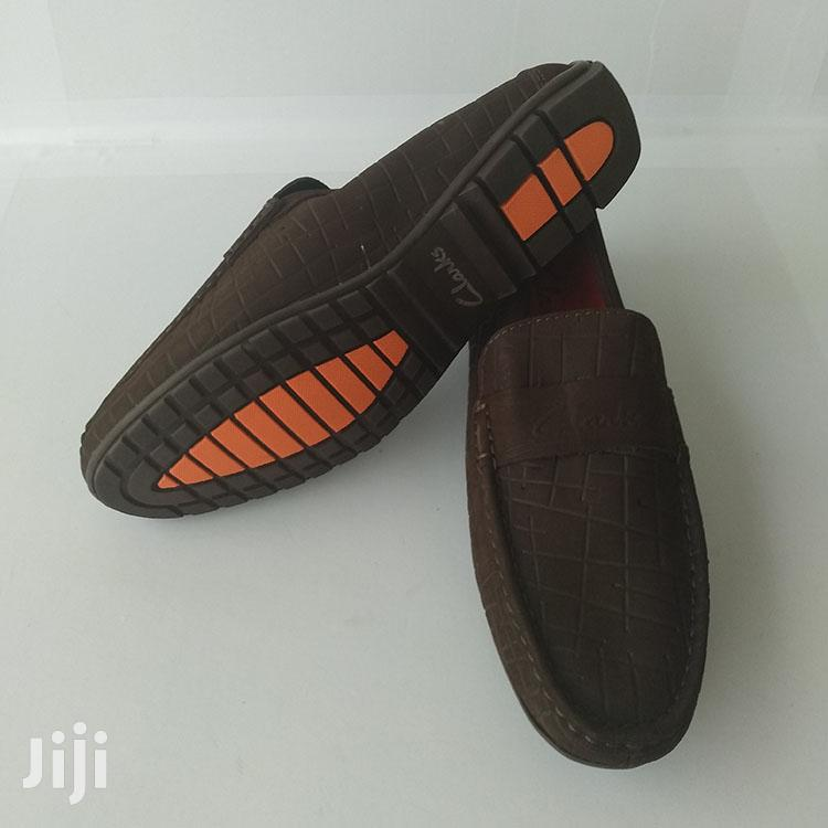Original Clarks Tobacco Brown Suede Loafers Shoe | Shoes for sale in Ashaiman Municipal, Greater Accra, Ghana