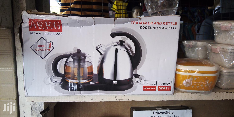 Archive: Double Tea Kettle
