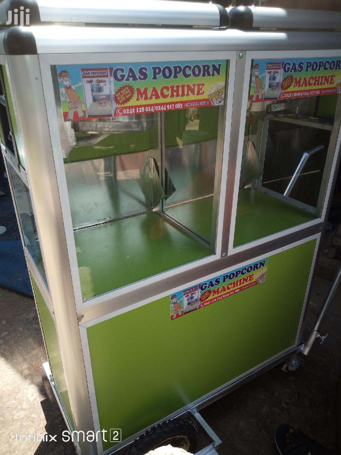 Quality Comecial Mobile Gas Popcorn Machines For Sale At Weija Barrier | Restaurant & Catering Equipment for sale in Ga West Municipal, Greater Accra, Ghana