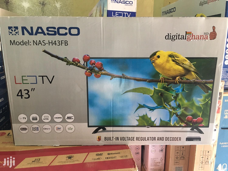 Nasco 43 Digital Satellite LED TV