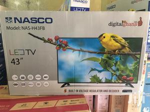 Nasco 43 Digital Satellite LED TV | TV & DVD Equipment for sale in Greater Accra, Adabraka