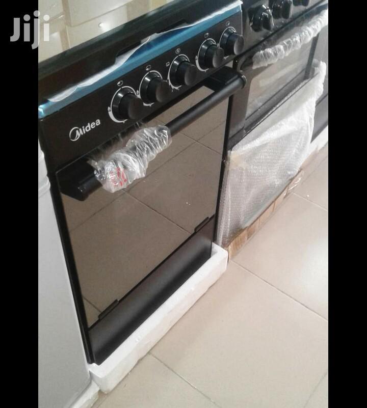 Inbox_midea 4burner Gas Cooker Oven