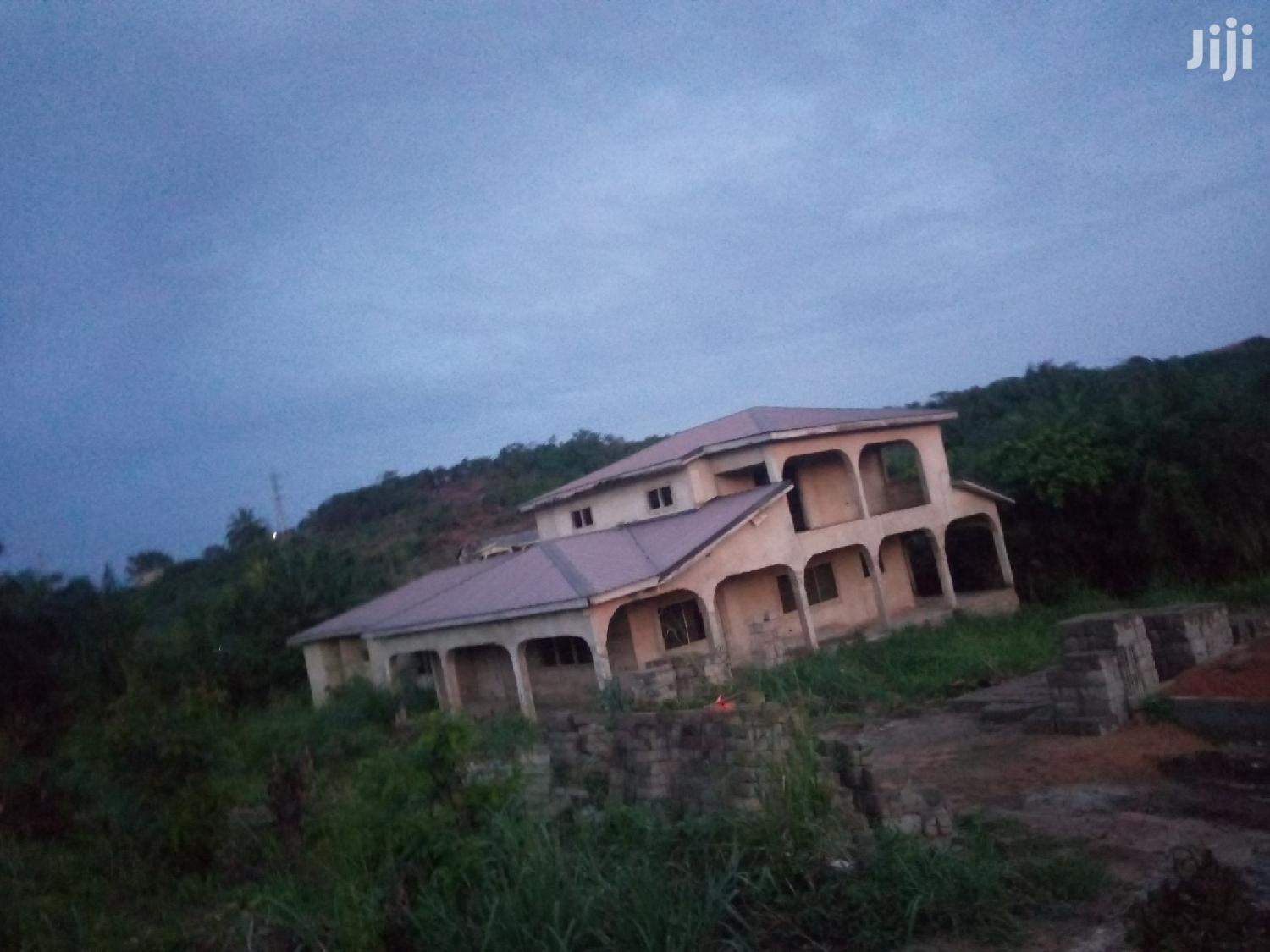Six Bedroom Uncompleted House For Sale | Houses & Apartments For Sale for sale in Cape Coast Metropolitan, Central Region, Ghana