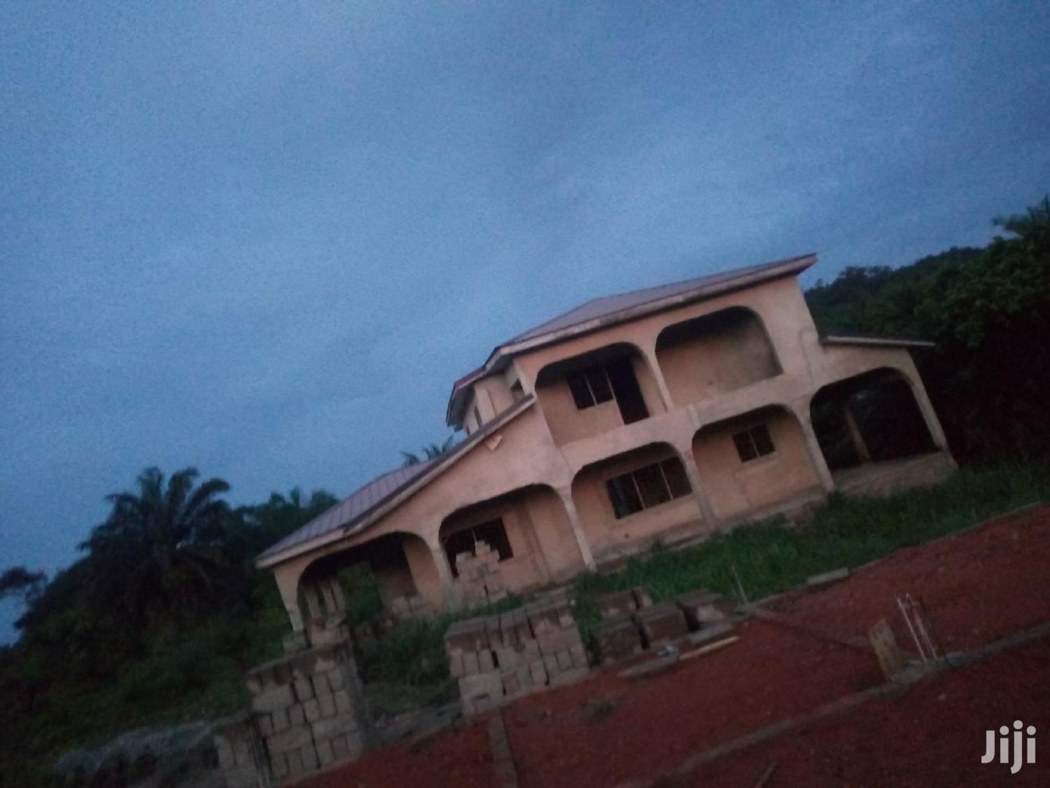 Six Bedroom Uncompleted House For Sale