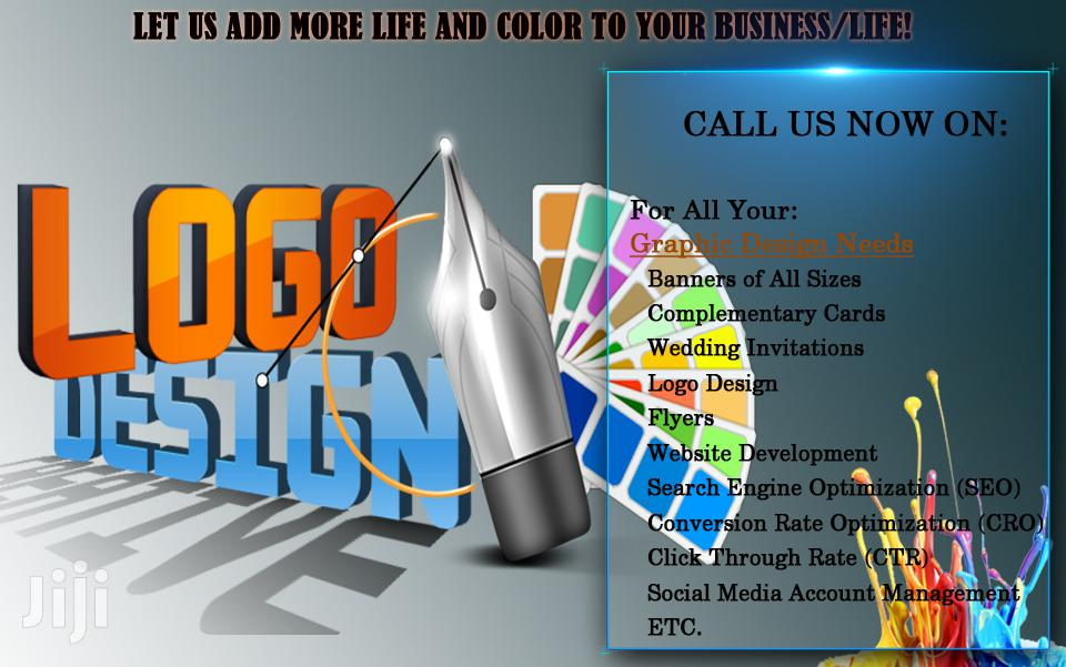 Website Development Graphic Design And Digital Services Facebook Etc | Computer & IT Services for sale in Nungua East, Greater Accra, Ghana