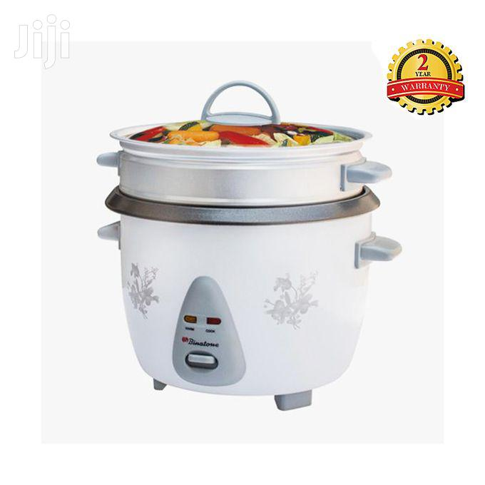 Binatone RCSG-1804 Rice Cooker With Steamer - 1.8 Litres