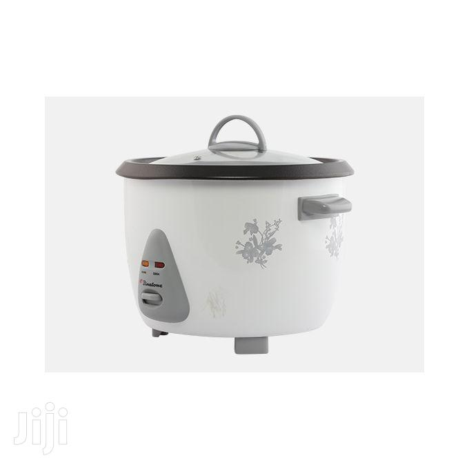 Binatone RCSG-1804 Rice Cooker With Steamer - 1.8 Litres | Kitchen Appliances for sale in Accra Metropolitan, Greater Accra, Ghana