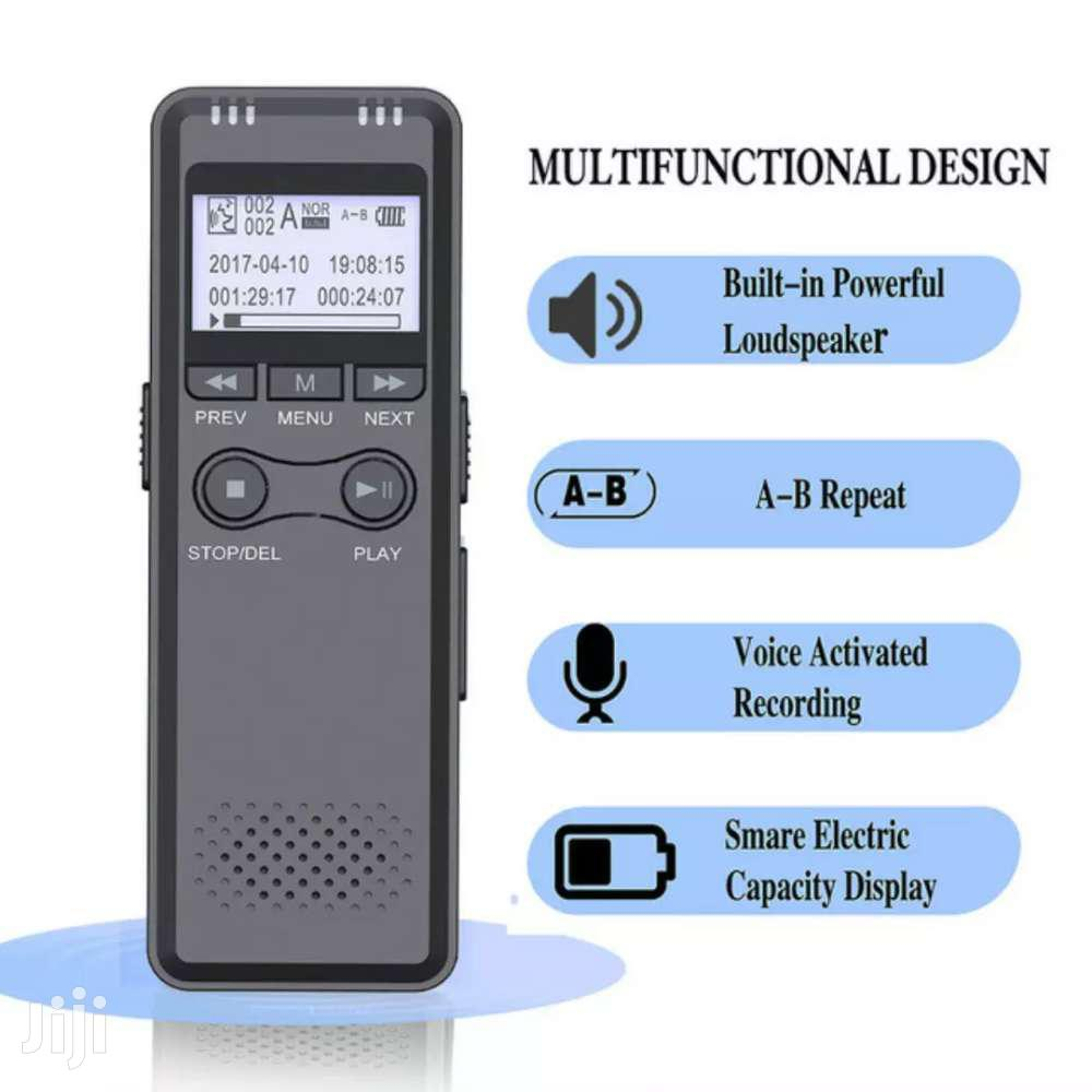 Professional Digital Voice Recorder - 8GB | Audio & Music Equipment for sale in Accra Metropolitan, Greater Accra, Ghana