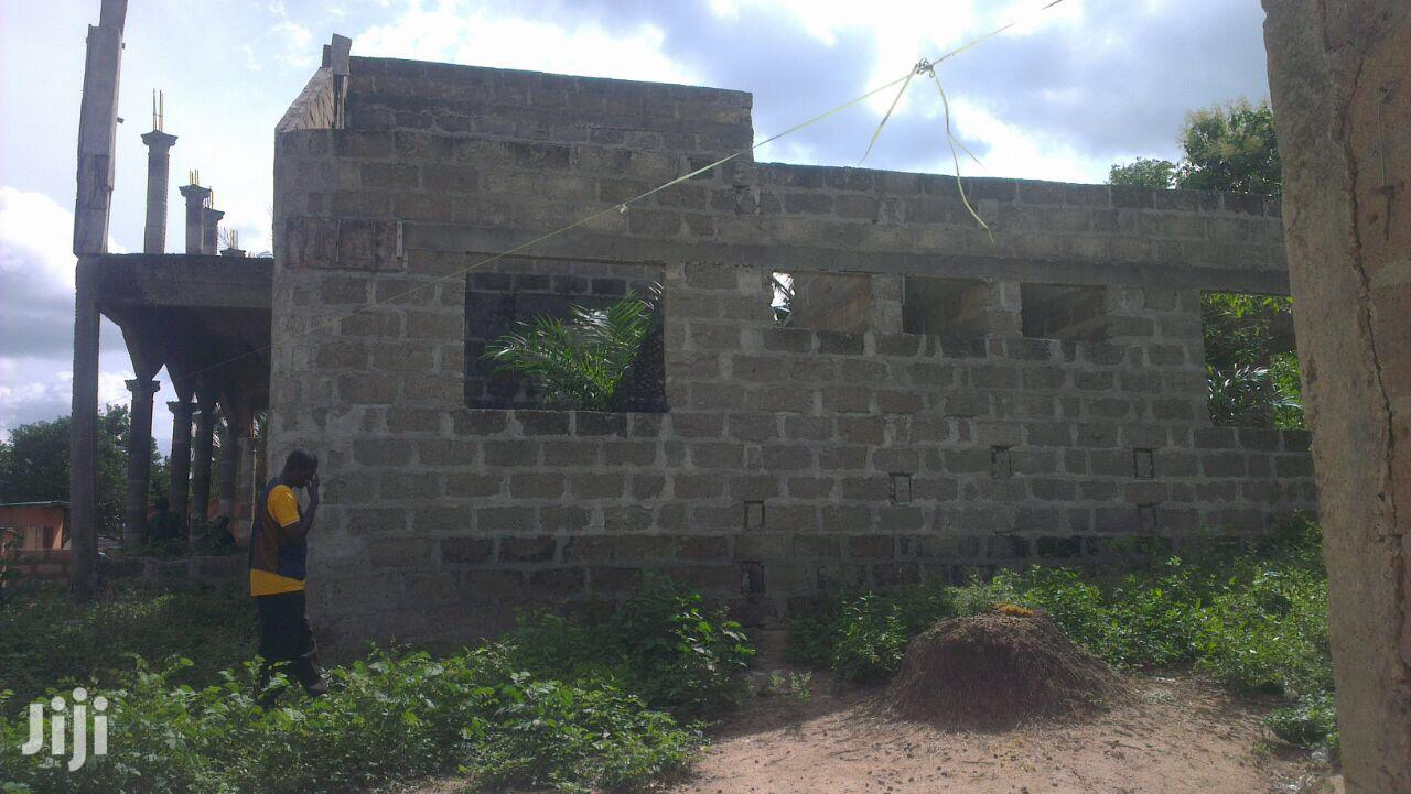 5bedroom 2 Big Halls Plus 2 Big Kitchen Plus 2 C&H At Bawdjiase-kasoa | Houses & Apartments For Sale for sale in Ga West Municipal, Greater Accra, Ghana