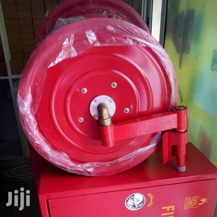 Hose Reel With Cabinet